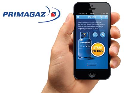 Voor propaanleverancier Primagaz ontwikkelde de app-experts van Extendas de handige Inhoudmeter App voor iPhone en Android.