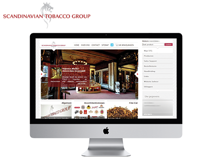 Extendas developed a dynamic web portal for Scandinavian Tobacco Group Nederland: a manufacturer of cigars and other tobacco products.