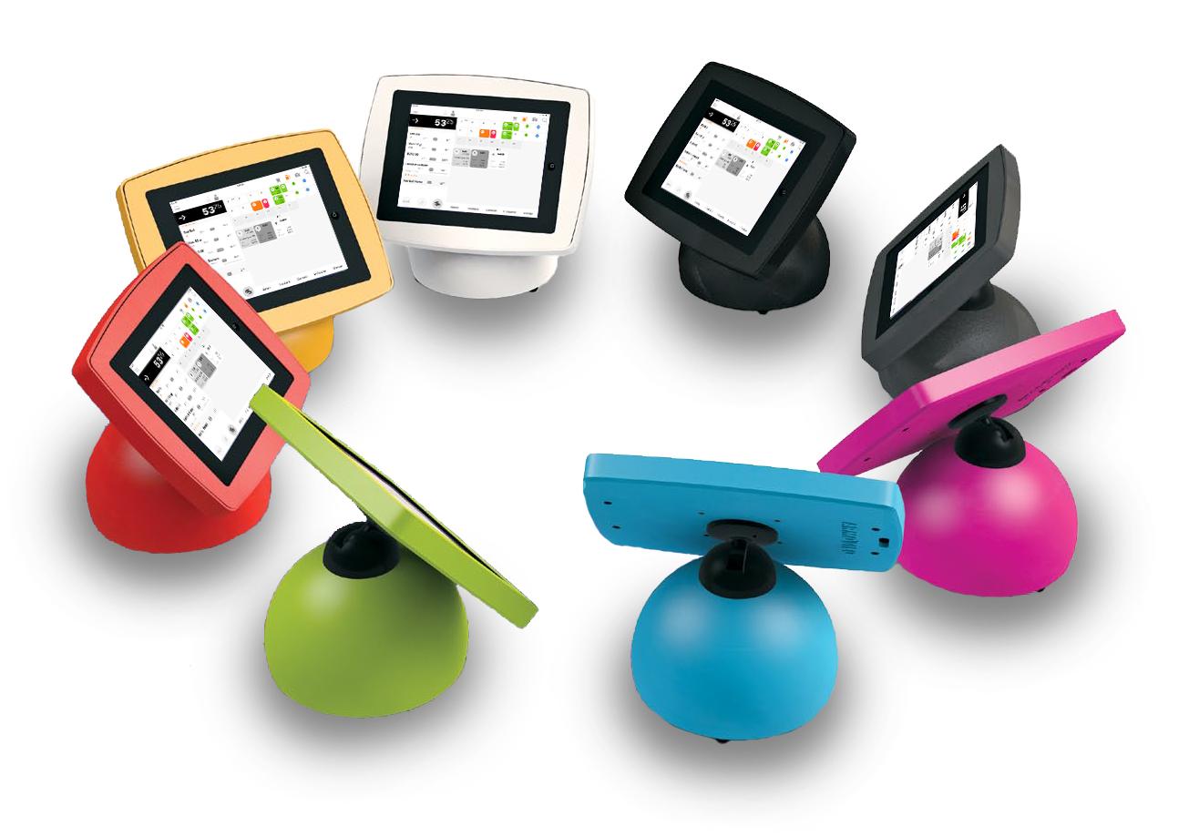 iPad kassa houders beschikbaar in meerdere kleuren