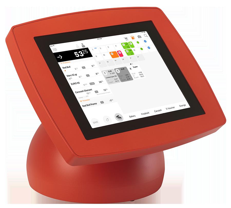 SPINpos iPad kassa met transactiescherm