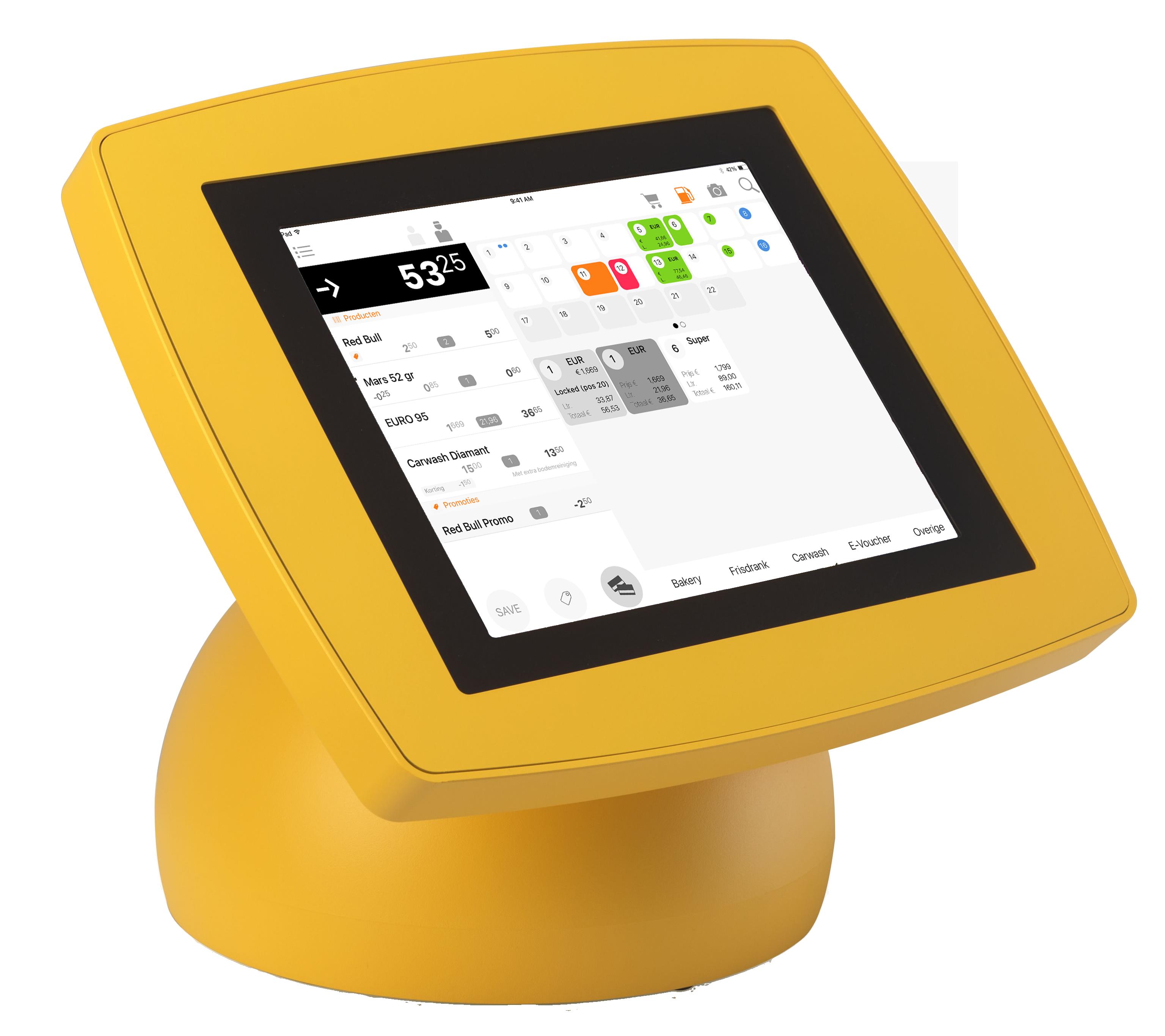 Extendas SPINpos iPad kassa geel