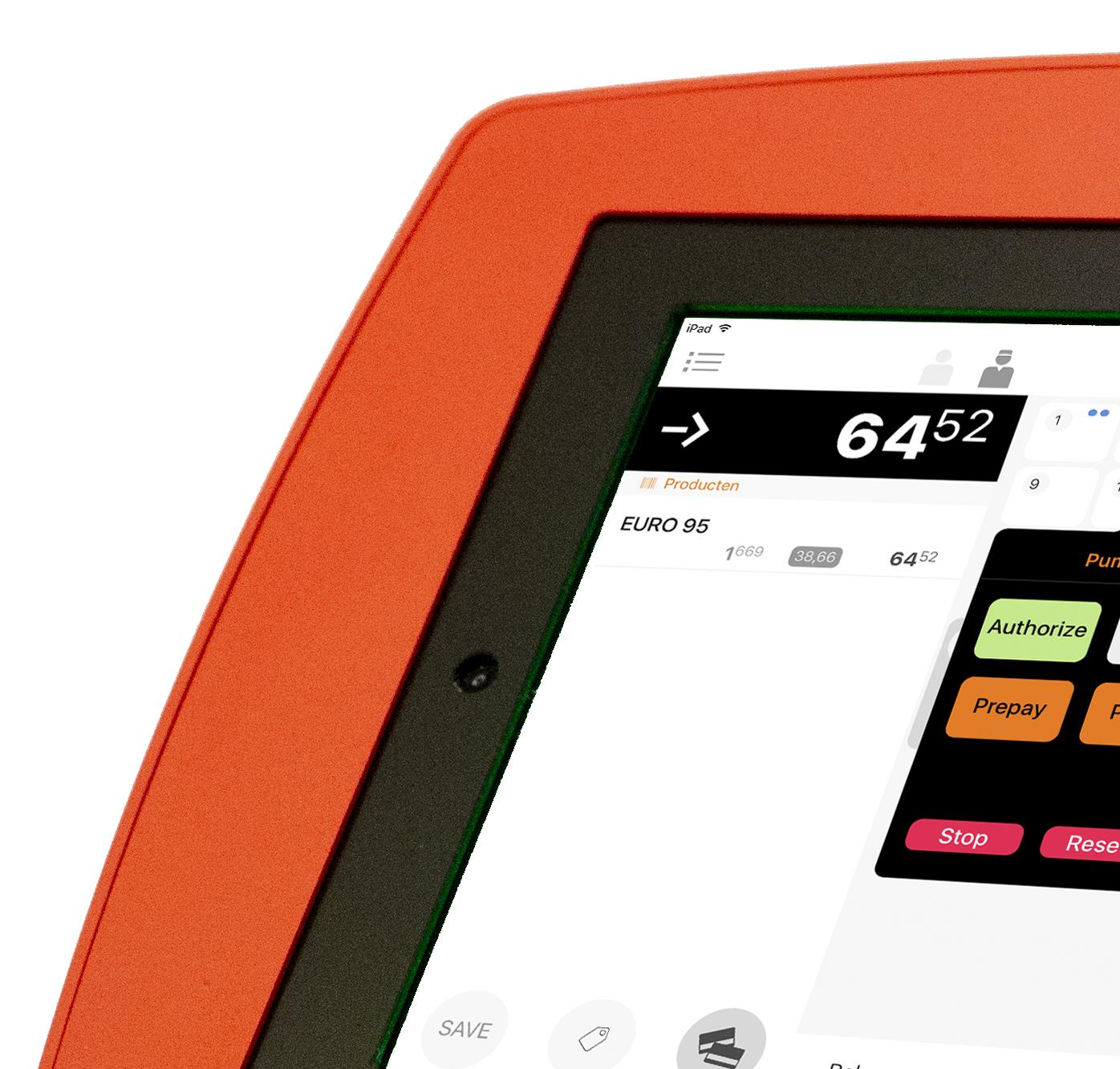 Extendas SPINpos iPad kassa rood
