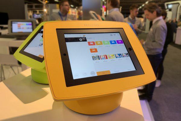 SPINpos iPad kassa's bij de Tankstation Vakbeurs
