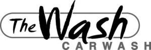 The Wash logo zwart wit
