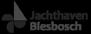 Jachthaven Biesbosch logo zwart wit
