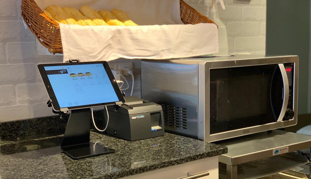 Haarhuis bakery SPINpos iPad kassa