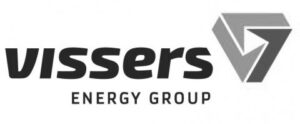 Vissers Energy Group logo zwart wit